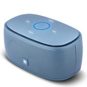 F.L 迷你音响蓝牙音箱插卡便携低音炮播放器 可插u盘电脑小音箱收音机 金冠K5雪青色