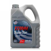 福斯 润滑油 机油 泰坦超能机油 半合成机油 全合成机油 全合成5W-40 4L 1桶