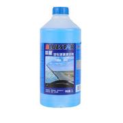蓝星 蓝星(BLUESTAR)玻璃水车用玻璃清洁剂 汽车玻璃水 雨刮水非浓缩汽防冻玻璃水 -30度防冻玻璃水蓝盖一瓶装