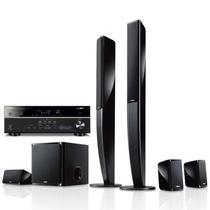 YAMAHA NS-PA40+RX-V477 5.1声道立柱家庭影院套装 音箱黑色,功放黑色产品图片主图