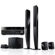 YAMAHA NS-PA40+RX-V475 5.1声道立柱家庭影院套装 音箱黑色,功放黑色