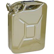 朗英隆 备用油桶 油箱 20升便携式汽油柴油桶 0.8MM加厚优质钢板