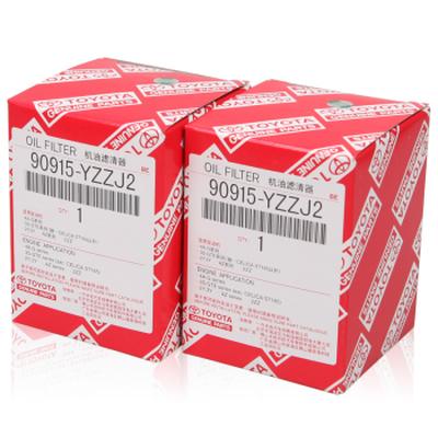 丰田 RAV4 原厂保养机油滤清器/机油格 90915-YZZJ2 2个装产品图片1