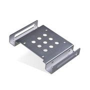 金胜 2.5寸转5.25寸光驱位硬盘架(银色KS-A525SR1S)