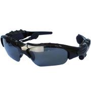 现代演绎 G500 蓝牙眼镜 立体声听歌 打电话司机必备 太阳镜墨镜 偏光眼镜 一年换新 黑色 官方标配送充电器