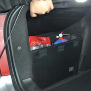 车翼 东风标致307改装专用后备箱储物箱整理箱收纳置物三厢两厢 三厢储物箱一对+配套后备箱垫