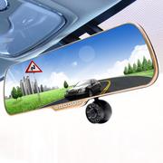 车玛仕 金色双镜头行车记录仪多功能一体机(可选配电子狗和导航)高清广角夜视 安卓导航+双镜头记录仪 32G专用卡