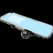 车玛仕 金色双镜头行车记录仪多功能一体机(可选配电子狗和导航)高清广角夜视 单镜头记录仪 无卡