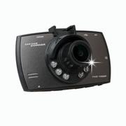 VCO 行车记录仪 双镜头效果超高清 1080P高清 广角170度 夜视增强型 循环录像 旗舰版标配双镜头(16G)