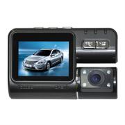 东影 双路行车记录仪DM712前后双摄像头 套餐二(8G金士顿TF卡)