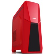 先马 雅典娜(红) 游戏机箱(USB3.0/240mm水排/SSD/400mm长显卡/背线)