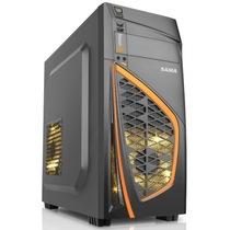 先马 军功3(标准版) 游戏机箱(USB3.0/双SSD/支持420mm长显卡/电源下置/黑化/背线)产品图片主图