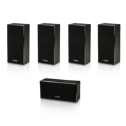 CAV DL-1挂壁式3D家庭影院音响 新款时尚主中置环绕音箱 五只装