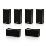 CAV DL-1挂壁式3D家庭影院音响 新款时尚主中置环绕音箱 六只装