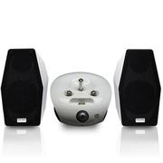 德律风根 i-Phantom 幻影 三支真空管 铝合金外观音箱 家庭豪华音响 白色