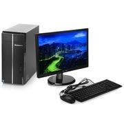 联想 D5050-G3250 台式电脑(G3250双核 4G 500G DVD win7)20英寸