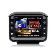 蓝贝尔 知路 六合一高清行车记录仪超广角1080P车辆定位仪路况测速一体机 记录仪+电子狗+车辆定位 官方标配+8G卡