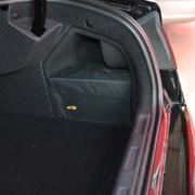 车翼 东风雪铁龙C5改装专用后备箱储物箱整理箱收纳置物专车专用 左右无盖一对+配套后备箱垫