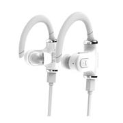 乐迈 S530 立体声蓝牙耳机 单双耳切换运动型蓝牙耳机 白色