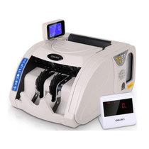 得力 3920 银行专用真人语音B类点钞机/验钞机捆扎一体机 双驱动/双显示屏/USB升级产品图片主图