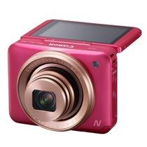 佳能 PowerShot N2 数码相机 粉色 自拍相机 180°上翻式触摸屏 1610万有效像素 wifi传输产品图片主图
