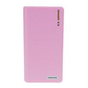 特兰恩 韩国 移动电源/手机充电宝适用于iPhone三星小米聚合物20000毫安 粉红色 20000毫安液态锂离子电芯