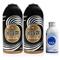 金冷 冷媒HFC-134a 环保雪种 汽车空调制冷剂 300克/罐 2瓶媒+1瓶冷冻油产品图片1