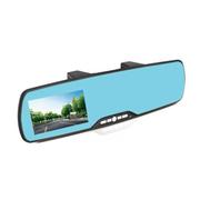 唯赛思通 4.3寸后视镜行车记录仪高清广角夜视 蓝镜防眩 蓝牙 GPS H6-4.3单镜头+蓝牙功能 标配+无卡+降压线