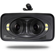 钛尔贝 行车记录仪三镜头/双镜头/前后镜头360度全景高清广角夜视 行车记录仪三镜头 +16G存储卡