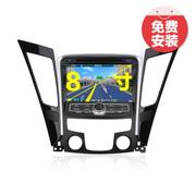 杰航(Jiehang) 北京现代瑞纳朗动名图ix35 索纳塔八代索8索八 8英寸 专用DVD导航+行车记录仪送卡