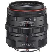 宾得 HD DA 20-40mm F2.8-4 LIMITED ED DC WR 变焦镜头(黑色)超低色散 防滴结构