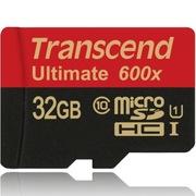创见 32GB UHS-I 600X TF(Micro SD)高速存储卡(读速90Mb/s)(MLC颗粒)