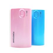 依波特 天生小巧移动电源充电宝 苹果6小米4USB通用4400毫安粉色蓝色 买二送一 天蓝色