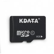 数码王 8GB手机TF内存卡 class6高速闪存卡 micro sd存储卡