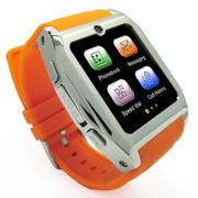 美创 苹果iphone6 plus智能手表手机穿戴式蓝牙手表手机智能手环 橙色