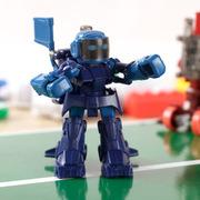 酷博 TAKARA TOMY体感遥控拳击机器人 格斗对战机器人 亲子互动儿童益智类玩具 送孩子 蓝色