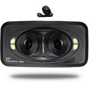 钛尔贝 行车记录仪三镜头/双镜头/前后镜头360度全景高清广角夜视 行车记录仪三镜头 标配无卡