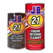 JB新世纪保护神 美国JB 智能修复剂2101 抗磨剂防蓝烟机油添加剂4缸车用 保质期10年 发动机保养经典套装
