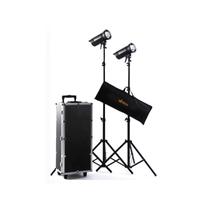 U2 FLASH 300W摄影灯套装 服装人像静物摄影棚拍摄器材 双灯套装产品图片主图