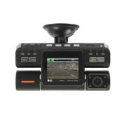 金马 602车载行车记录仪双镜头 车内监控 高清1080P 602+送8G卡