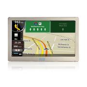 有途 UT-P70全球通GPS导航仪7英寸屏8G内存 支持中国+外国双地图导航 金色 标配(国内美行地图)