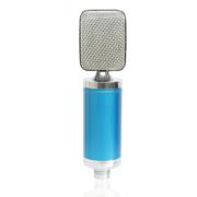 喜木 唱吧麦克风 手机电脑录歌K歌专用话筒 KTV卡拉OK电容麦 蓝色