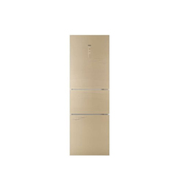 海尔 BCD-249WDCU 249升L三门冰箱(香槟金)产品图片主图