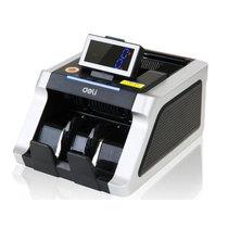 得力 3913 USB升级智能点钞机 银黑产品图片主图