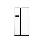现代 HDF553WGA 553L对开门冰箱(白色)