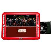 先科 V20 大屏看戏机唱戏机移动DVD带电视高清evd视频播放器 红色 标配+16G歌戏卡