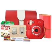 富士 趣奇(checky)instax mini25相机(红色)特惠套餐