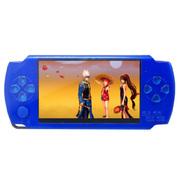 小霸王 PSP游戏机炫影79 4.3寸屏内置9000款经典游戏支持下载带摄像 儿童GBA掌机 蓝色4G版本