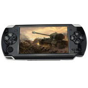 小霸王 PSP游戏机炫影79 4.3寸屏内置9000款经典游戏支持下载带摄像 儿童GBA掌机 黑色4G版本