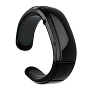 台硕 W100S 智能设备 时尚蓝牙手环 通话手镯 防丢失防辐射 安卓手机苹果三星通用 黑色